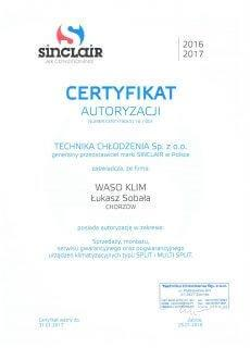 Certyfikat Autoryzacji