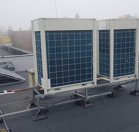 Urząd miejski - klimatyzacja