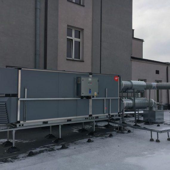 Klimatyzator - dach