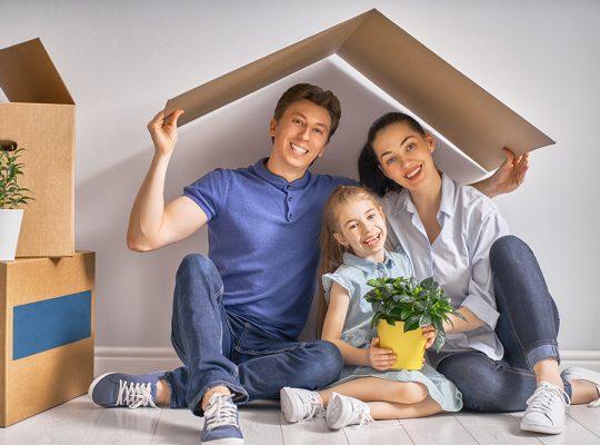 bezpieczny, wygodny dom