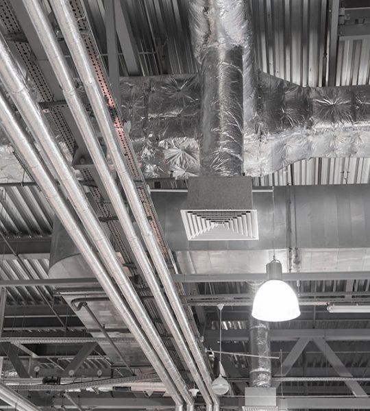 wentylacja hali przemysłowej