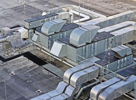 klimatyzacja i wentylacja obiektów przemysłowych