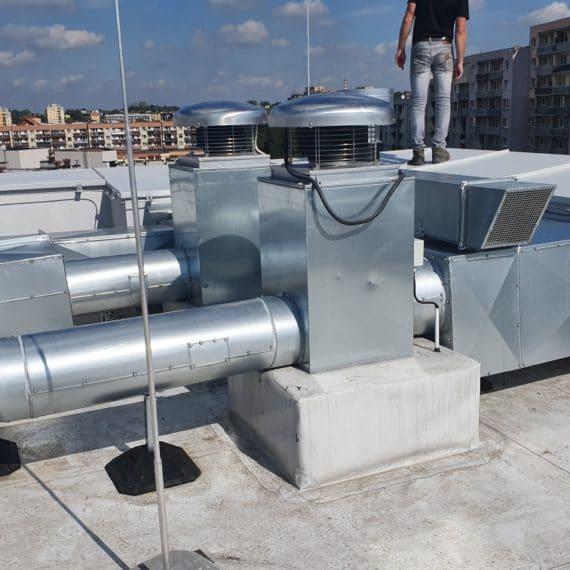 Klimatyzacja budynków waso klim