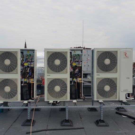 Klimatyzacja budynku