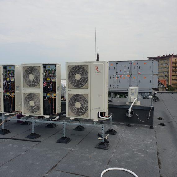 Klimatyzatory na dachu