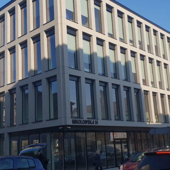 Klimatyzowany budynek