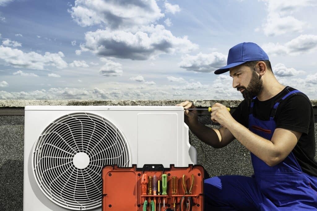 klimatyzacja biurowca