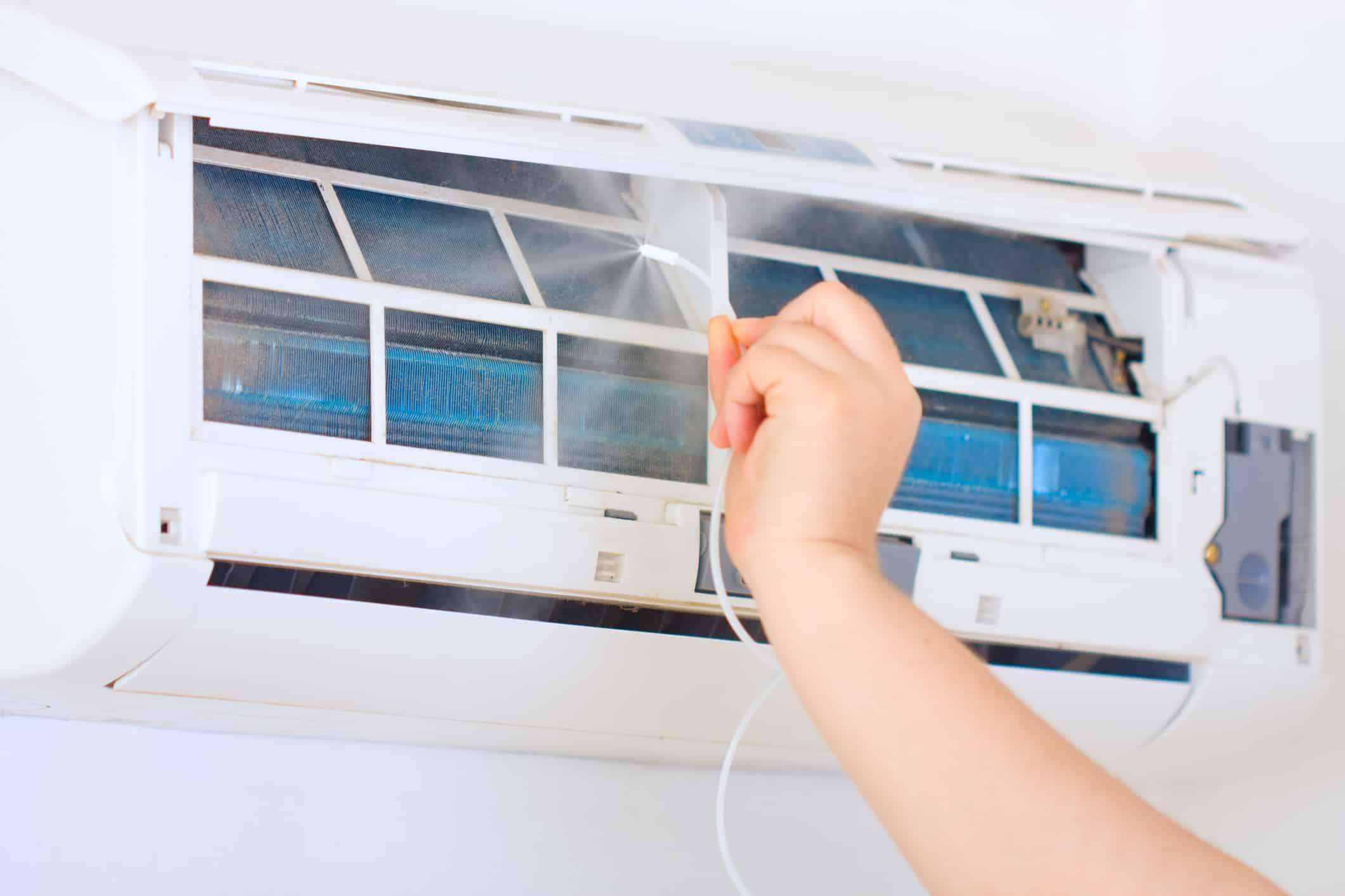 Odgrzybianie domowej klimatyzacji krok po kroku